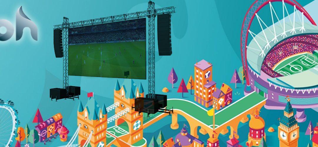 Toda la Eurocopa en Lagoh de la mano del grupo Camaleón Led Digital Lighting